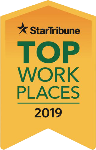 2019 StarTribune Top Minnesota Workplaces Award